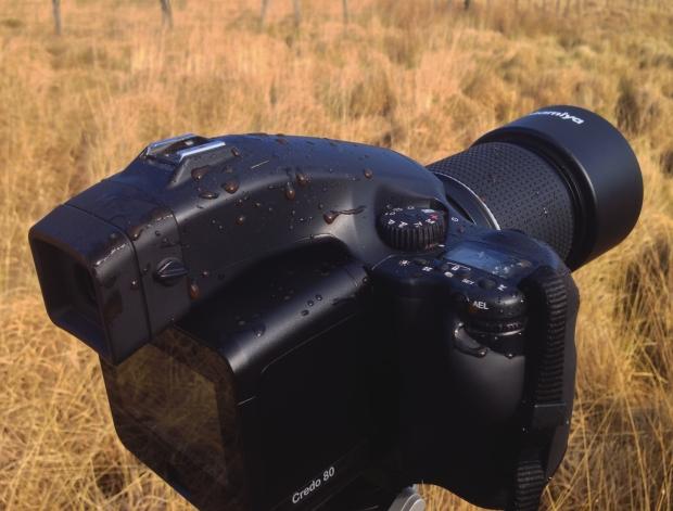 A muddy camera